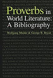 Proverbs in World Literature: A Bibliography