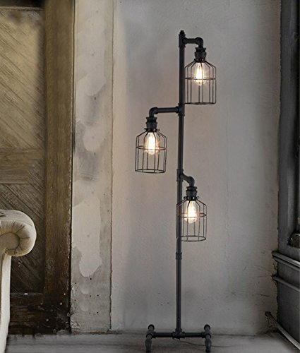 stehlampe industrial spotlight floor lamp vintage industrial design stehlampe im vintage with. Black Bedroom Furniture Sets. Home Design Ideas