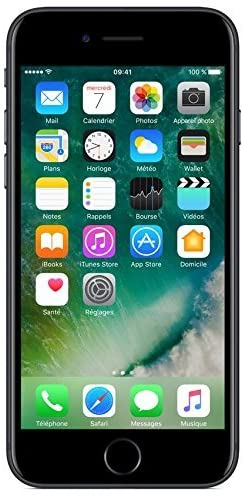Apple iPhone 7 128GB - Negro Matte - Desbloqueado (Reacondicionado)