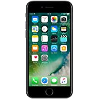 Apple iPhone 7 SIM-Free Smartphone Black 32GB (Renewed)