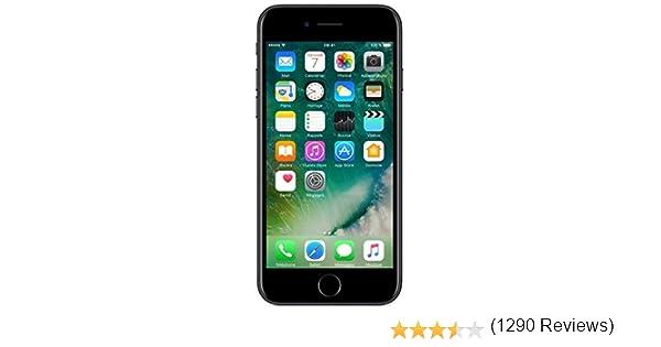 Apple iPhone 7 128GB Negro Mate (Reacondicionado): Amazon.es ...