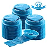 good looking dental office design ideas YGDZ 45 Pack Blue Emesis Bags, 1000ml Disposable Vomit Bags, Waste Disposal Bags, Aircraft & Car Sickness Bag, Nausea Bags for Travel Motion Sickness