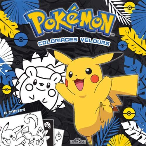 Pokemon Coloriages Velours Amazon Ca The Pokemon Com Books