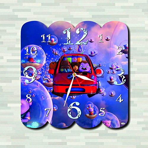 Boov Costume Home (Home - Happy Smekday ( Film ) 11.4'' Handmade Wall Clock ( ACRYLIC GLASS ) - Get unique décor for home or office – Best gift ideas for kids, friends,)