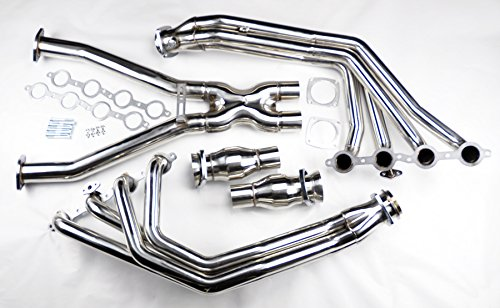 2004 C5 LS1 L6 Stainless Exhaust Headers Manifolds & X Pipe (C5 Ls1 Corvette)