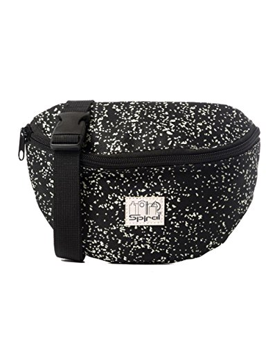 [iHeartRaves Glow In The Dark Speckled Fanny Pack] (90s Theme Party Outfits)