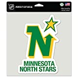 WinCraft Minnesota North Stars Official NHL 8 inch x 8 inch Die Cut Car Decal by 362230