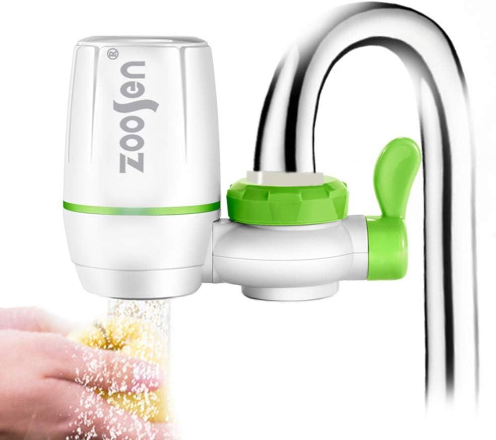 Dandeliondeme Tapa Purificador de Agua Grifo de Cocina Lavable Cerámica Rust Bacteria Removal Filter Filtro Filtrado Spray plata: Amazon.es: Hogar