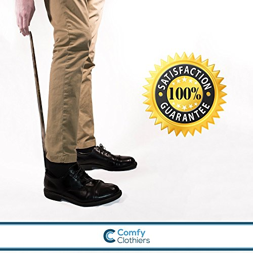 Comfy Clothiers 18-Inch Long Stainless Steel Shoe Horn by Comfy Clothiers (Image #5)
