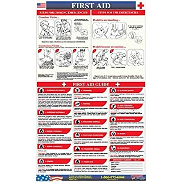 First Aid Response Poster How To Steps In The Event Of An Emergency