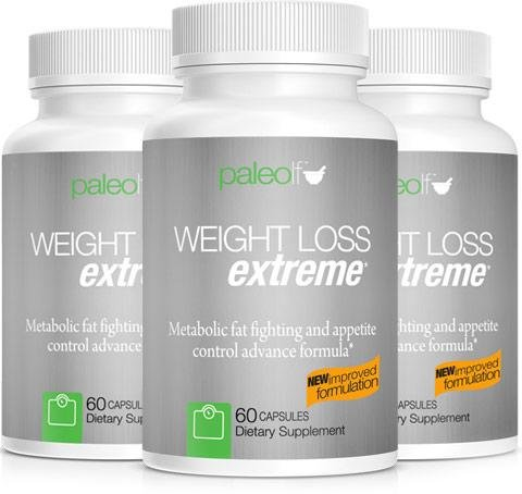 Paleo Life Weight Loss Extreme High Strength Natural Fat Burner Formula, Fights Food Anxiety Promotes Appetite Control 3 Months Supply 180 Capsules by PaleoLife