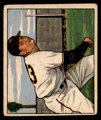 1950 Bowman #199 Jack Kramer NY Giants MLB Baseball Card G Good