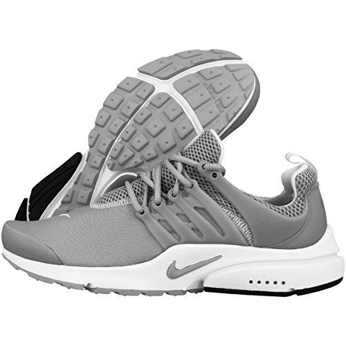 Nike Hommes Air Presto Essentiel Loup Gris / Loup Gris / Blanc