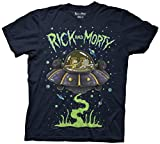 Rick and Morty Ship Dumping Mens T-Shirt