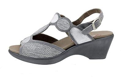 Semelle Amovible Sandales Confort À 180863 Femme Chaussure Piesanto TF3lK1cJ