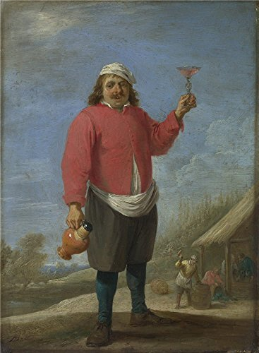 High Quality Polyster Canvas ,the Cheap But High Quality Art Decorative Art Decorative Canvas Prints Of Oil Painting 'David Teniers The Younger Autumn ', 20 X 27 Inch / 51 X 69 Cm Is Best For Garage Decor And Home Decoration And Gifts (Top Chef Season 10 Dvd compare prices)