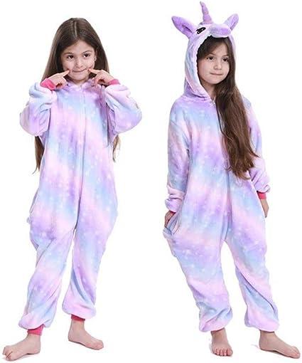 Unicorn Pyjamas Jumpsuit Kigurumi Child Winter Sleepwear For Kids Rainbow Unicorn Panda Pyjamas Baby Jumpsuit Girls Boys Licorne Stitch Onesies For Children 6t Amazon De Küche Haushalt