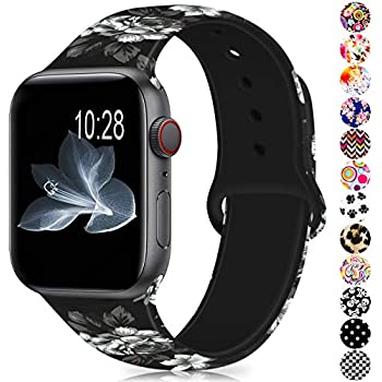 Amazon.com: EXCHAR Compatible with Apple Watch Band 40mm