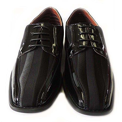 Newferro Aldo Uomo Oxford Classico Stringate Scarpe Eleganti Rivestite In Pelle Mfa129207l Nero