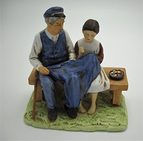 VINTAGE Norman Rockwell Figurine 1979***THE LIGHTHOUSE KEEPERS DAUGHTER***