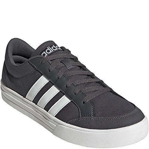 adidas Men's Sport VS Set Fashion Campus Shoes Color: Black Size:10