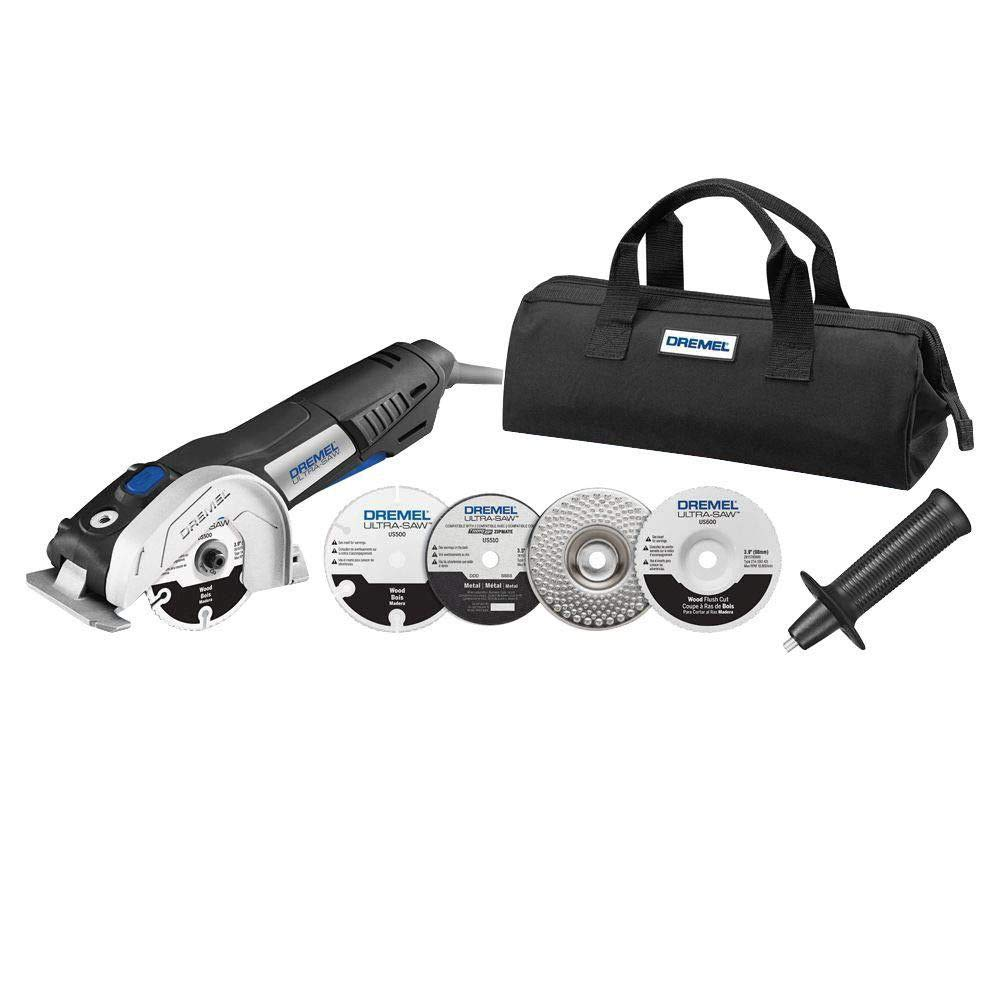 Dremel US40-DR-RT 7.5 Amp 4 in. Ultra-Saw Tool Kit (Certified Refurbished)