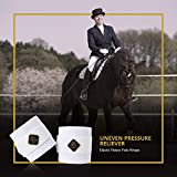 Kavallerie Elastic Fleece Bandages for Horses, Non- Slip and Snug fit Breathable Material for Injury Protection and Superior Legs Support, Stocking up Solution - White