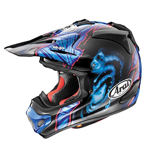 Arai VX-Pro4 Barcia Off-Road Motorcycle Helmet - Black/Blue / (Focus Off Road Helmet)