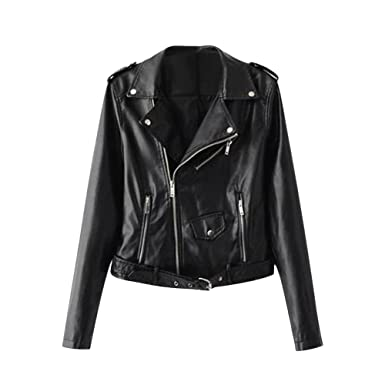 Lady Motorcycle Faux PU Leather Suede Short Coat Biker Jackets for Women Slim fit Textile Outerwear Jacket