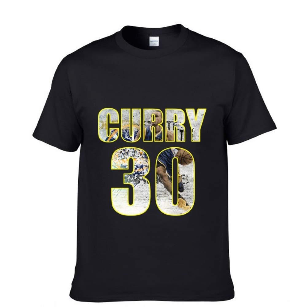 JJZHY Camiseta de Baloncesto Stephen Curry de Manga Corta de ...