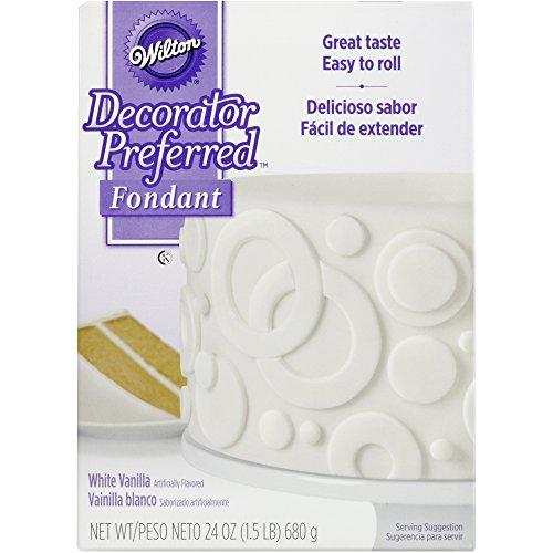 Wilton, Decorator Preferred Fondant, 24-Ounce, White, 710-2301