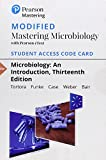 Modified Mastering Microbiology with Pearson eText -- Standalone Access Card -- for Microbiology: An Introduction (13th Edition)
