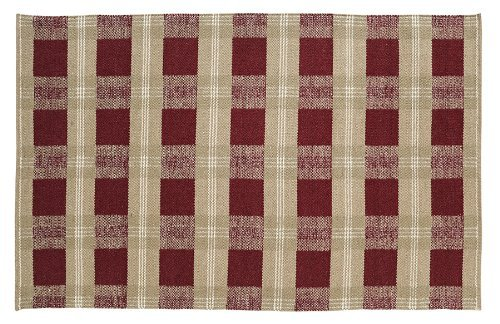 """Everson Wool & Cotton Rug Rect 48x72"""""""