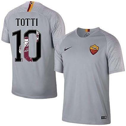 ad9e8b2e4e45a8 NIKE AS Roma Away Totti 10 Jersey 2018/2019 (Gallery Style Printing) -
