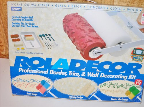 Roladecor Professional Border Trim Wall Decorating Kit As Seen on Tv