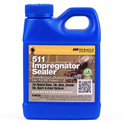 Miracle Sealants 511 PT SG Impregnator Sealer for Stone