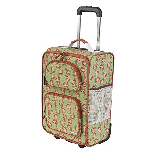 KidKraft Rolling Luggage, Monkey