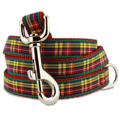 Plaid Dog Leash, Buchanan Tartan