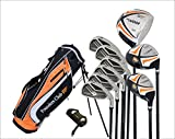 Founders Club The Judge Mens Complete Golf Club Package Set for Men with Graphite and Steel and Stand Bag For Right Hand