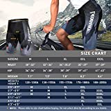 Gouxry Cycling-Shorts-Men-Padded Bike Cycling