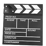 POSITIVE 映画撮影用 本格 ハリウッド 風 カチンコ 表は 映画 風裏は 黒板 として使える! オシャレ インテリア に! 保証書付き (小型サイズ(20×20㎝))