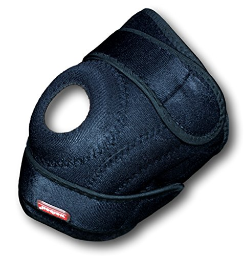 Neoprene Knee Brace Adjustable Open Patella Design - Knee Support with Stabilizers for use During Workout (Basic Halloween Ideas)