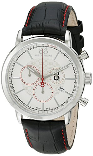 88-Rue-du-Rhone-Mens-87WA140034-Analog-Display-Swiss-Quartz-Black-Watch