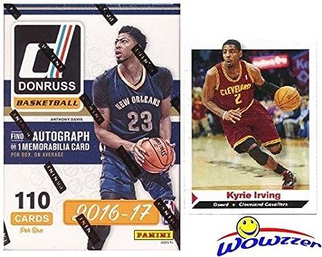 20162017 Panini Donruss Nba Basketball Exclusive Factory Sealed Retail Box With Autograph Or Memorabilia Card Plus Bonus Kyrie Irving Rookie Ben