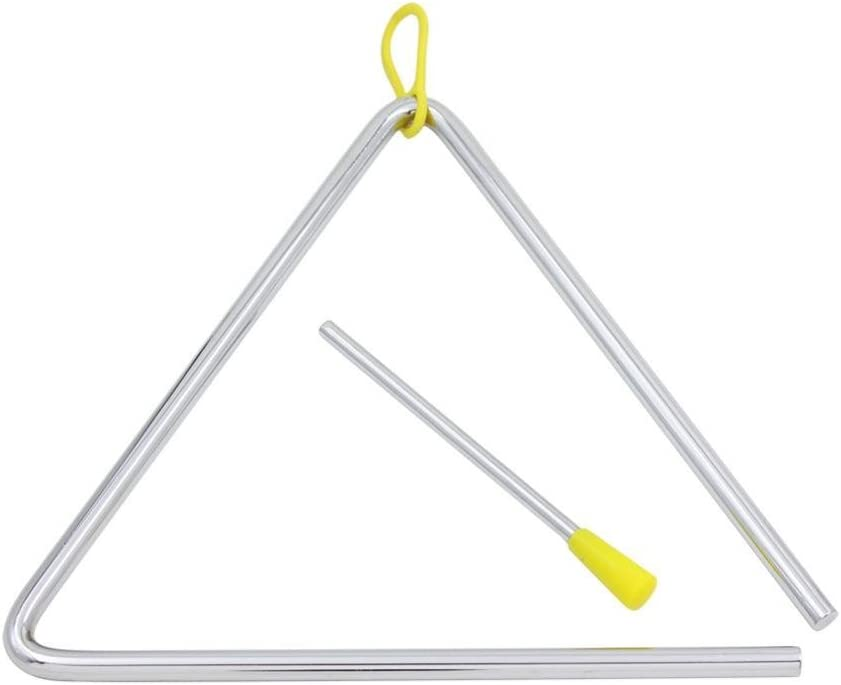 Kids Triangle Steel Beating Percussion Musical Instrument Kids Education Toy Nov