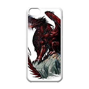chen-shop design Protection Cover Hard Case Of Red Dragon Cell phone Case For Iphone 5C high XXXX