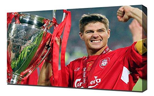 Liverpool Steven Gerrard 1 - Canvas Art - Steven Gerrard Canvas