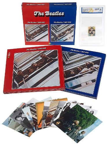 1962-1970: Collector's Edition Box Set (Remastered Red & Blue Albums with Cards & Stamp) by Apple Records (Image #1)
