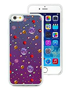 Diy iPhone 6 Case,Christmas crystal White iPhone 6 4.7 Inch TPU Case 1