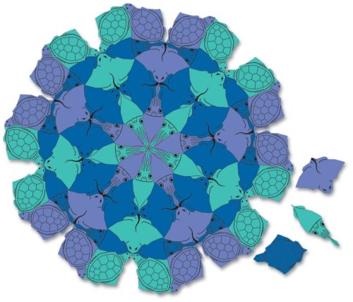 Amazon.com: In the Ocean Tessellation Puzzle: Toys & Games